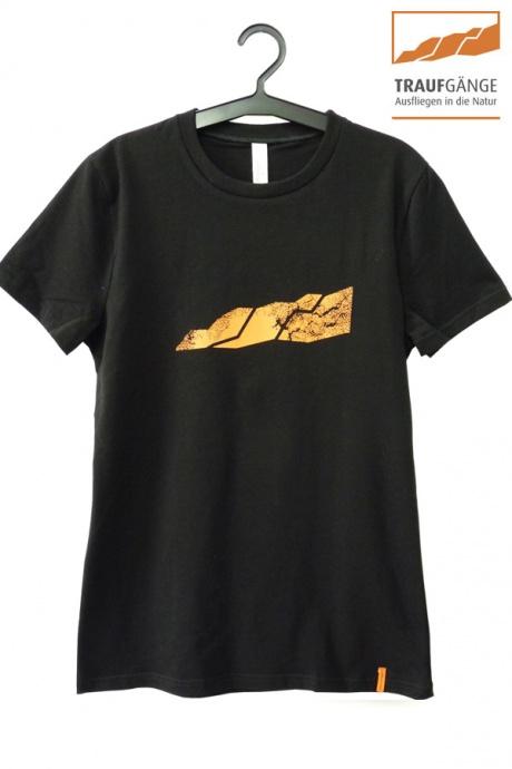 Comazo Biowäsche, Kurzarm Shirt für Damen in schwarz- Vorderansicht