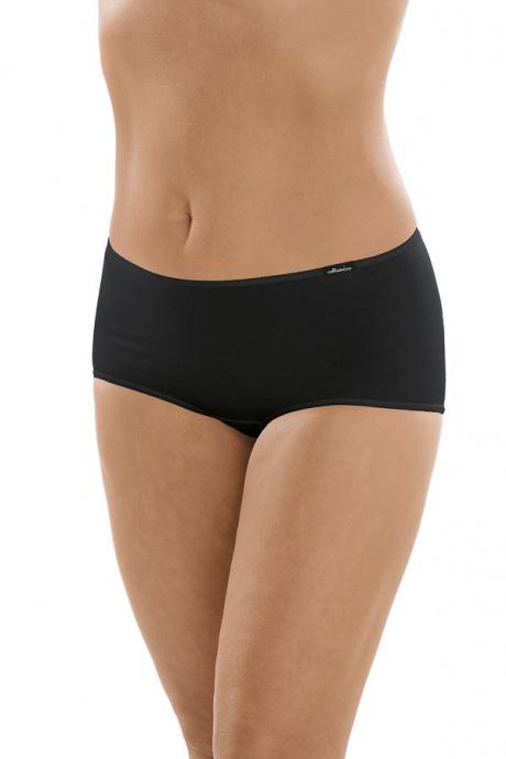 Comazo Unterwäsche, Hot-Pants für Damen in schwarz - Vorderansicht