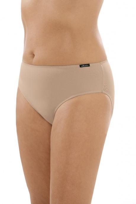 Comazo Unterwäsche, Midi-Slip für Damen in skin - Vorderansicht