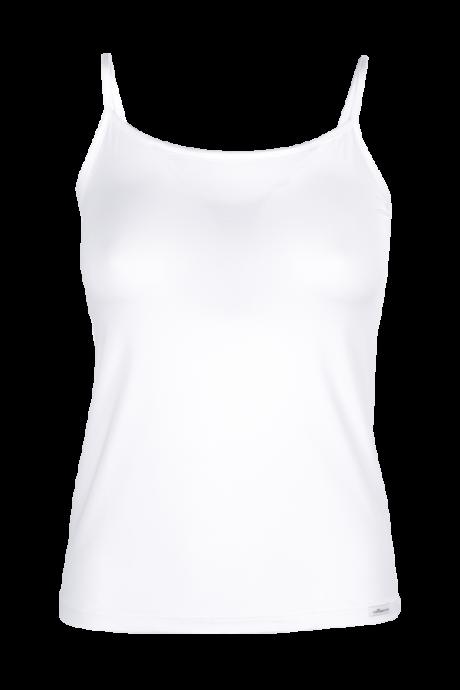 Comazo Lieblingswäsche Damen Unterhemd in weiss