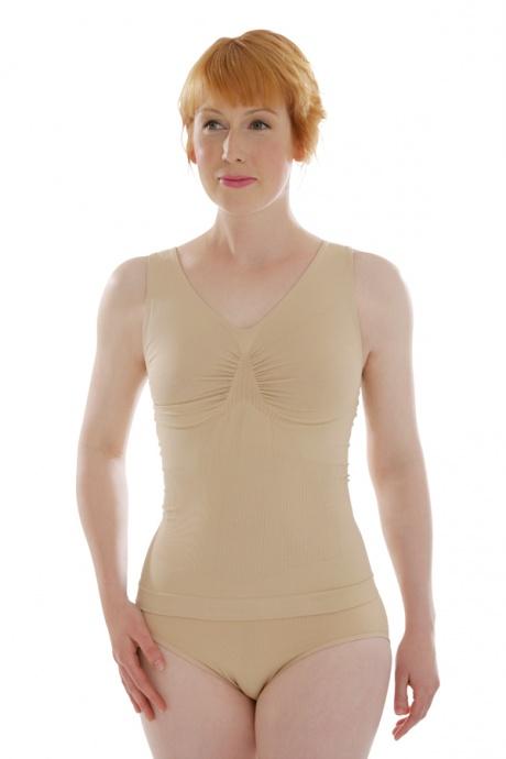 Comazo Shapewear, Unterhemd figurformend für Damen, skin - Vorderansicht