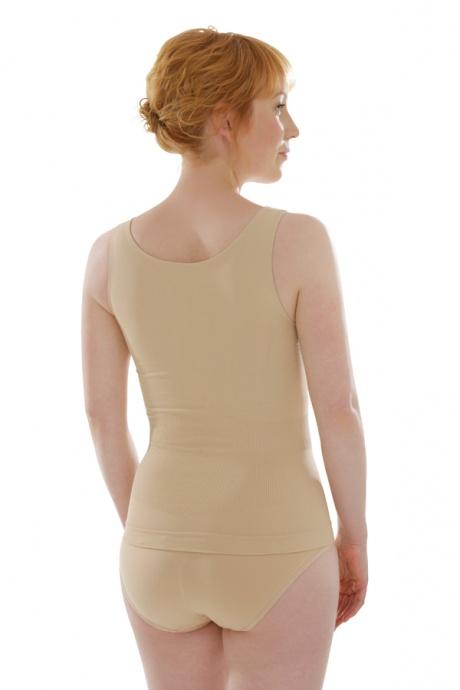 Comazo Shapewear, Unterhemd figurformend für Damen, skin - Rückansicht