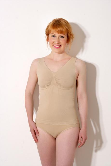 Comazo Shapewear, Unterhemd figurformend für Damen, skin - 'Gesamtansicht