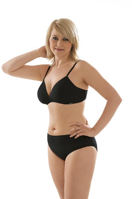 Comazo Unterwäsche, Spacer-BH für Damen in schwarz - Gesamtansicht