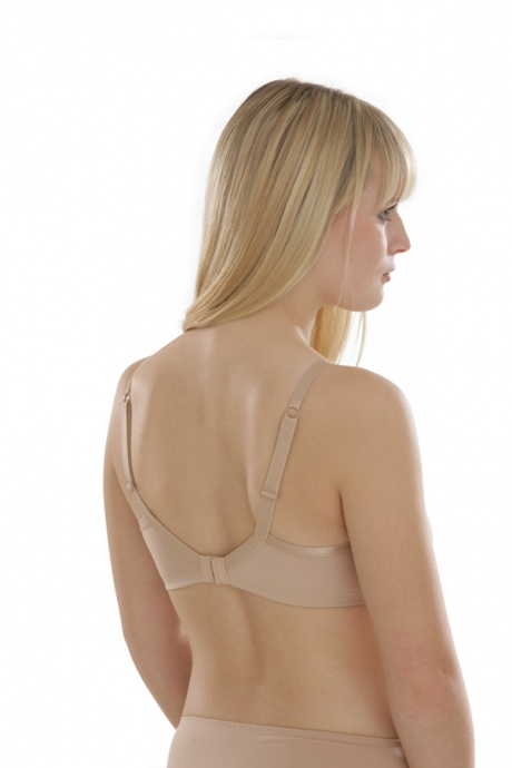 Comazo Unterwäsche, Bügel gemoldet für Damen in skin - Rückansicht