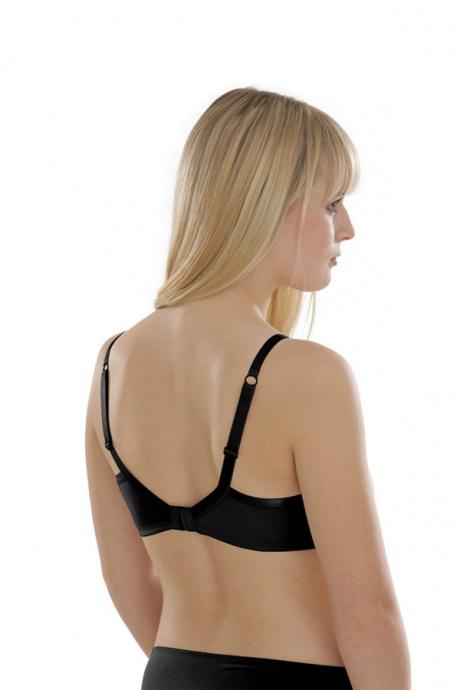 Comazo Unterwäsche, Bügel gemoldet für Damen in schwarz - Rückansicht