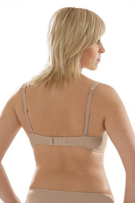 Comazo Unterwäsche, Neckholder-BH für Damen in skin - Rückansicht