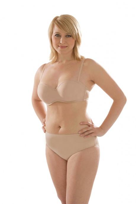 Comazo Unterwäsche, Balconette-BH für Damen in skin - Gesamtansicht