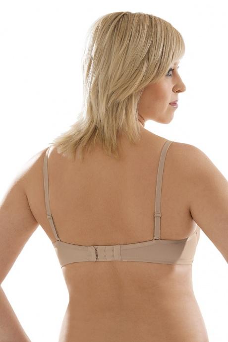 Comazo Unterwäsche, Push-Up BH für Damen in skin - Rückansicht