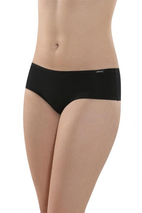 Comazo Unterwäsche, Brasilian-Slip für Damen in schwarz- Vorderansicht