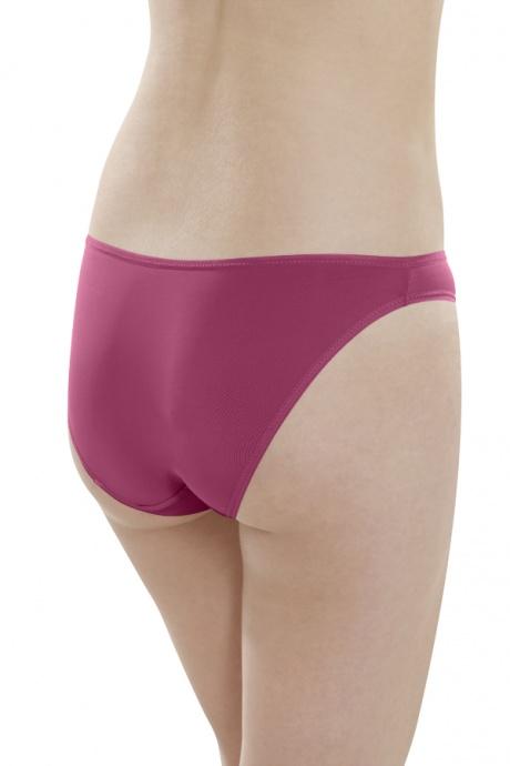 Comazo Unterwäsche, Mini-Slip für Damen in brombeer - Rückansicht