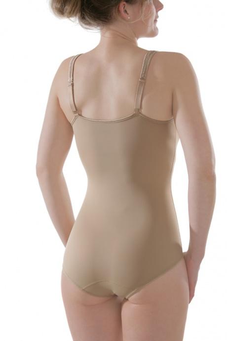 Comazo Shapewear, Miederbody für Damen, skin - Rückansicht