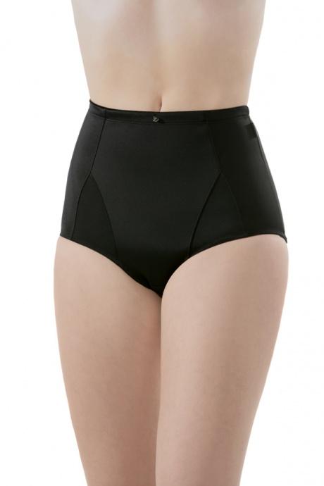 Comazo Shapewear, Miederhose hochtailliert für Damen, schwarz - Vorderansicht