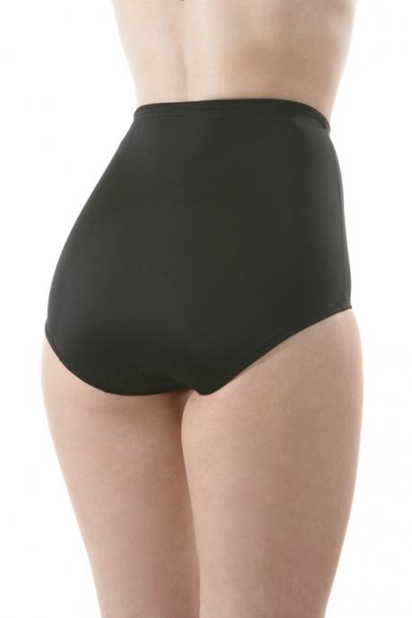 Comazo Shapewear, Miederhose hochtailliert für Damen, schwarz - Rückansicht