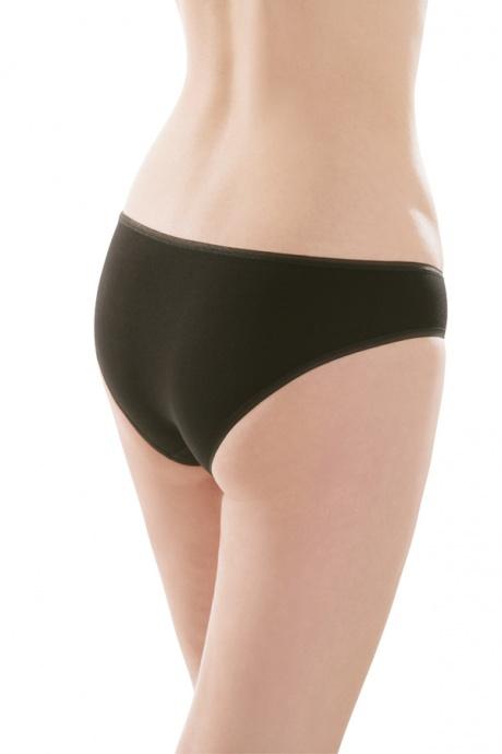 Comazo Unterwäsche, Rio-Slip für Damen in schwarz - Rückansicht