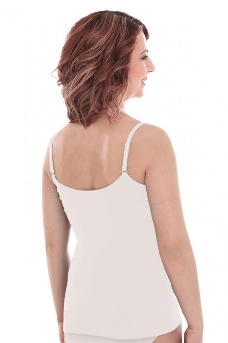 Comazo Lieblingswäsche, Unterhemd für Damen in weiss