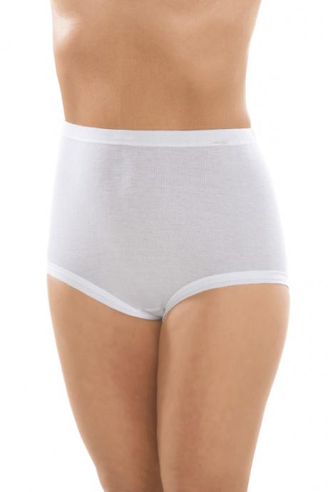 Comazo Unterwäsche, Taillen-Slip Capri für Damen in weiss - Vorderansicht