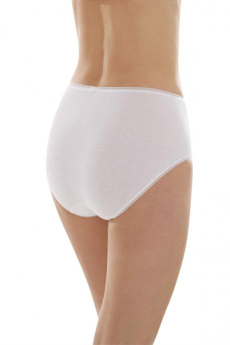 Comazo Unterwäsche, Taillen-Slip für Damen in weiss - Rückansicht