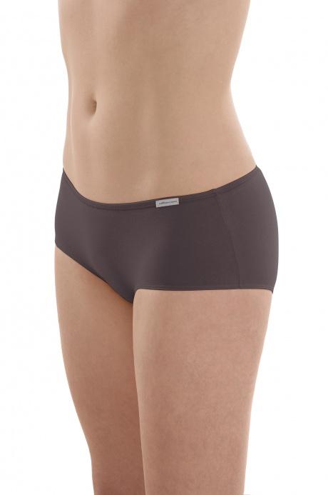 Comazo Biowäsche, Panty für Damen in anthrazit - Vorderansicht