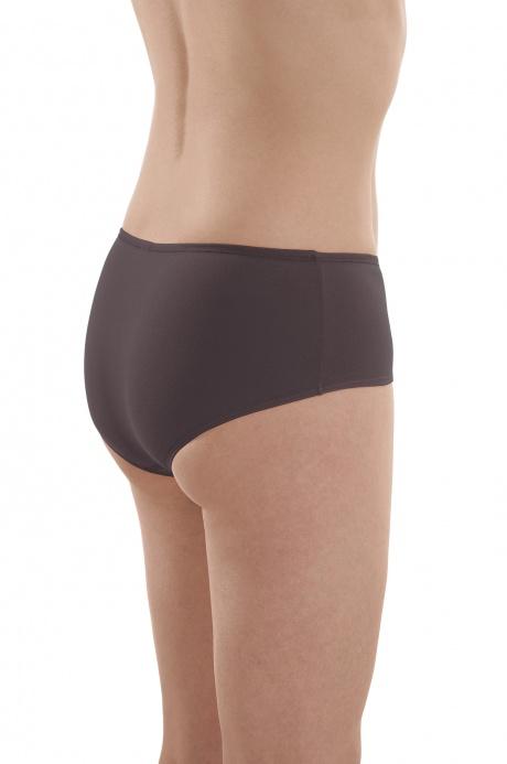 Comazo Biowäsche, Panty für Damen in anthrazit - Rückansicht