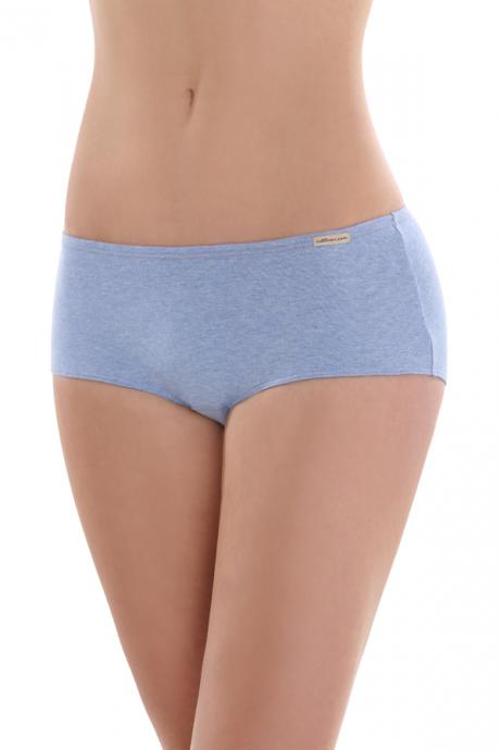 Comazo Biowäsche, Panty für Damen in blau-melange