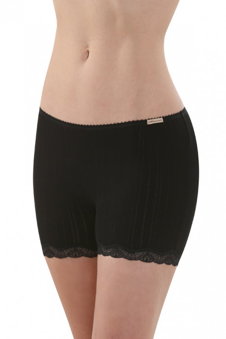 Comazo Biowäsche, Panty für Damen langes Bein in schwarz