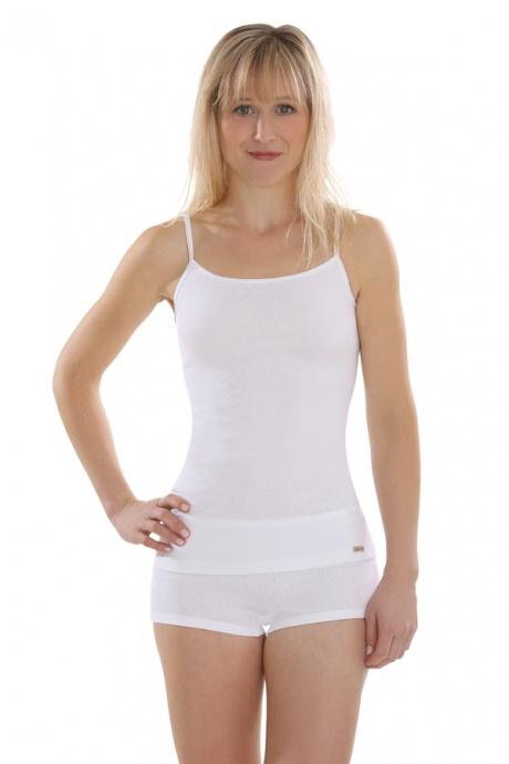 Comazo Biowäsche, Panty für Damen in weiss