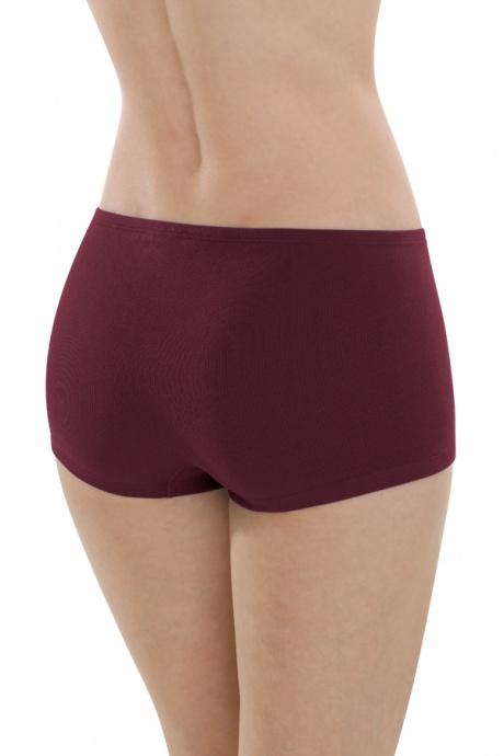 Comazo Biowäsche, Panty für Damen in burgund