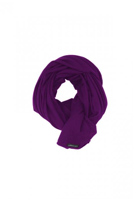 Comazo Biowäsche Schal für Damen in erika