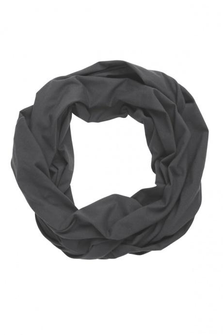 Comazo Biowäsche, Schal für Damen in anthrazit - Vorderansicht