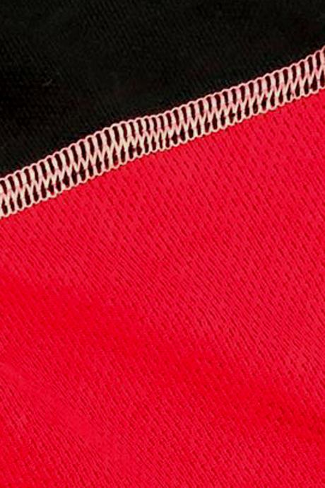Comazo Funktionswäsche lange Hose für Damen in rot/schwarz