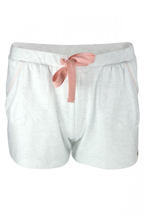 Comazo Lieblingswäsche Damen Shorts in ecru-melange