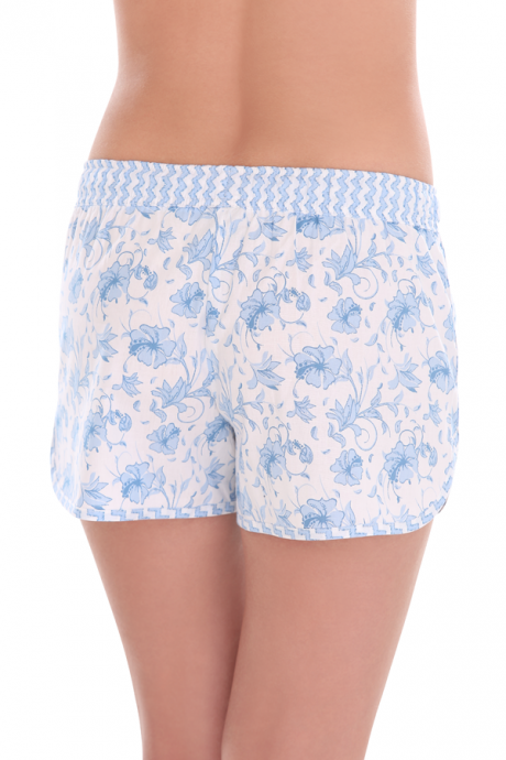 Comazo Lieblingswäsche, Shorts für Damen in hellblau/navy