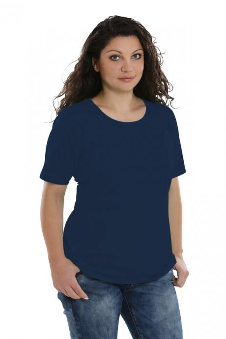 Comazo Lieblingswäsche, Basic Shirt für Damen in lapis
