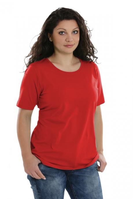 Comazo Lieblingswäsche, Basic Shirt für Damen in apfelrot