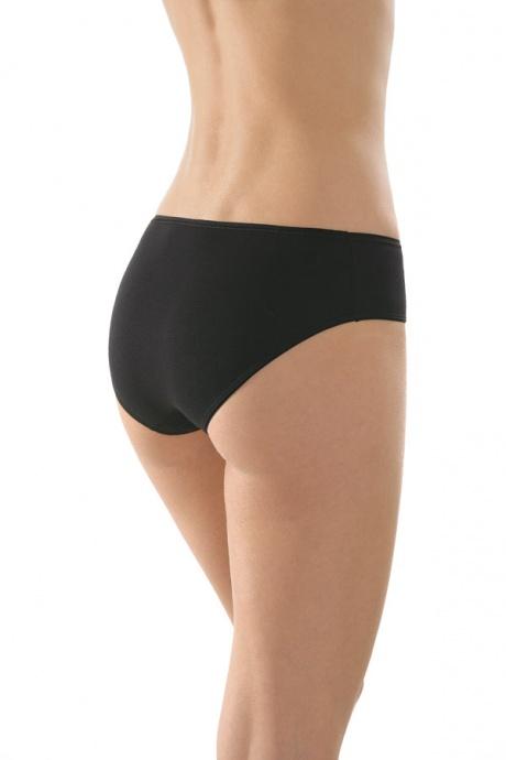 Comazo Unterwäsche, Hüft-Slip für Damen in schwarz - Rückansicht