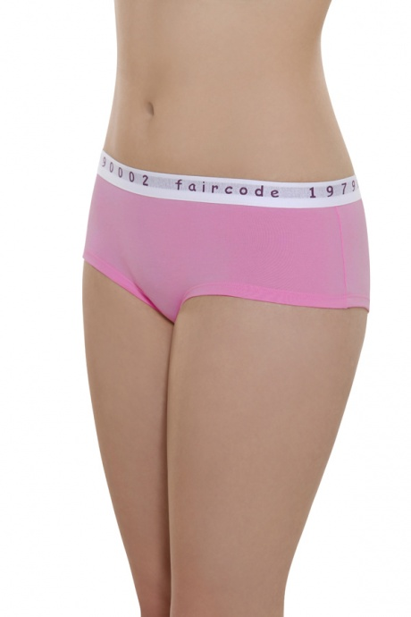 Comazo Biowäsche, Hot Pants low cut für Damen in pink - Vorderansicht
