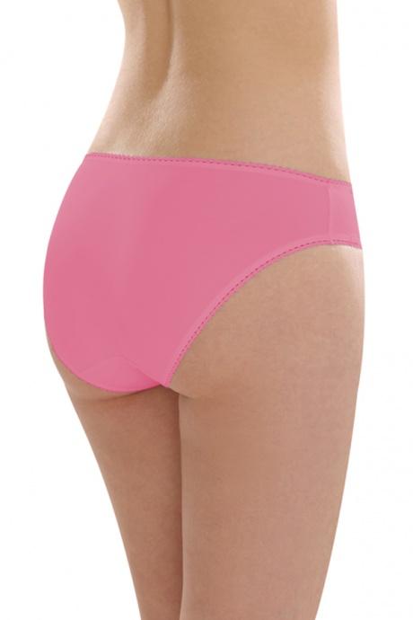 Comazo Unterwäsche, Jazz-Pants mit Stickerei in pink - Rückansicht