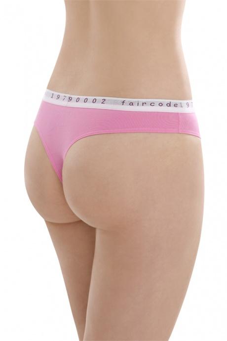 Comazo Biowäsche String low cut für Damen in pink - Rückansicht