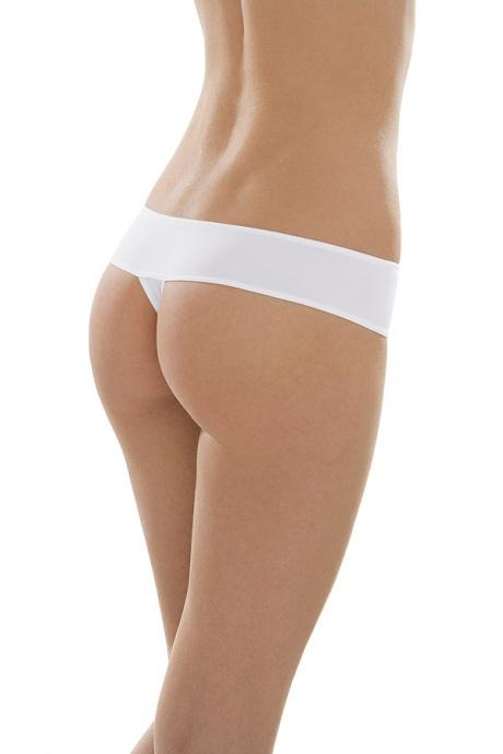 Comazo Unterwäsche, String low-cut für Damen in weiss - Rückansicht