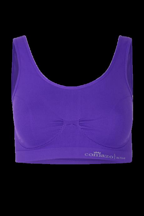 Comazo Funktionswäsche Bustier für Damen in lila