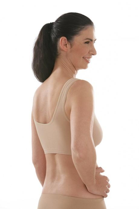 Comazo Funktionswäsche, Seamless Bustier für Damen in skin-Rückansicht
