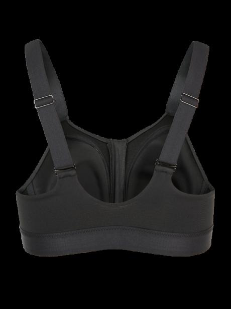 Damen Sportbh Comazo Funktionswäsche Unterwäsche in schwarz