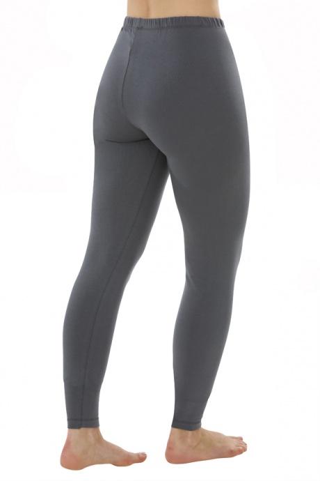 Comazo Biowäsche, Leggings für Damen in anthrazit - Rückansicht