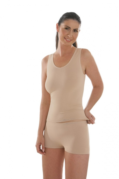 Comazo Funktionswäsche, Seamless Hot-Pants in skin - Gesamtansicht