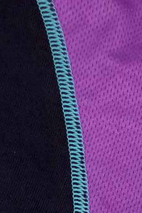 Comazo Funktionswäsche Damen Shirts langarm in lila