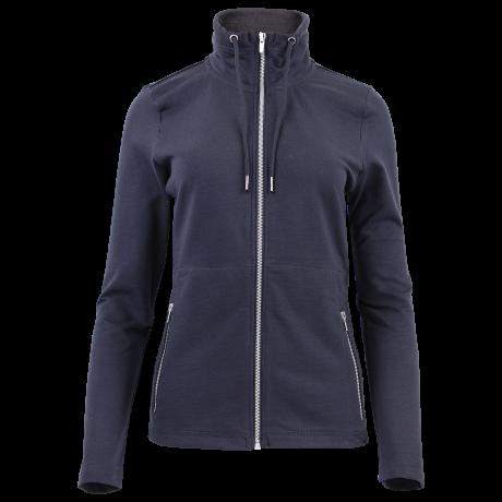 Comazo Unterwäsche Homewear Jacke Damen in marine