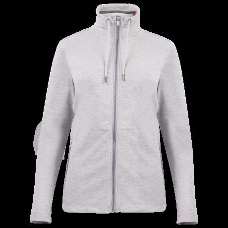 Comazo Unterwäsche Homewear Jacke Damen in grau-melange