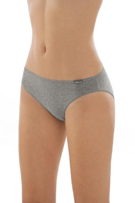 Comazo Unterwäsche, Jazz-Pants für Damen in grau-melange - Vorderansicht