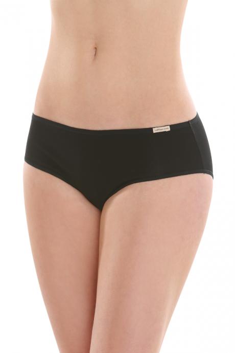 Comazo Biowäsche, Jazz-Pants für Damen in schwarz